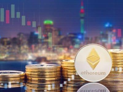 Das Ethereum verzeichnete einen Anstieg seines Transaktionsvolumens